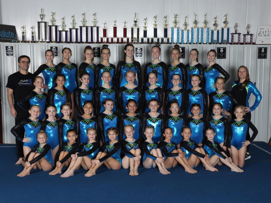Salute Gymnastics Competitive Team